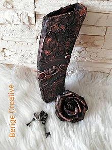 Dekorácie - Váza Bianka - 10731968_