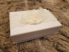 Iné doplnky - Krabička na svadobný USB kľúč - romantický diamant - 10732392_