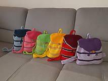 Batohy - Háčkované ruksačiky - 10732859_