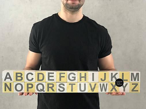 Drevená abeceda