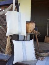 Nákupné tašky - Ľanová nákupná taška Countryside Romance - 10733206_
