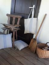 Nákupné tašky - Ľanová nákupná taška Countryside Romance - 10733209_