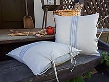 Úžitkový textil - Ľanová obliečka na vankúš Countryside Romance - 10733273_