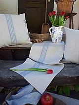 Úžitkový textil - Ľanová štóla Countryside Romance - 10733305_