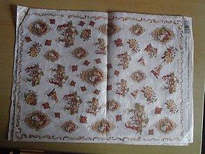 Papier - drobné motívy vianočné - 10731854_