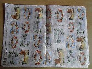 Papier - drobné motívy vianočné 2 - 10731880_