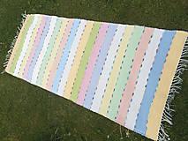 Úžitkový textil - pastelový koberec - 10735256_