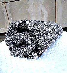 Textil - Prešívaná deka s úchytom - 10735294_