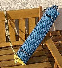 Iné tašky - Yoga vak háčkovaný - 10736176_