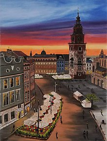Obrazy - Obraz - Krakow - 10736325_