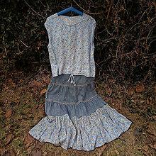 Šaty - Na modrej lúke- zľava z 34,50 eur - 10734660_