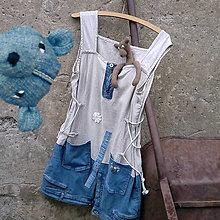 Šaty - Minišaty Combi - 10736629_