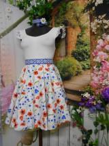 Sukne - Nevädza a maky - sukňa ako stvorená na leto - 10734152_