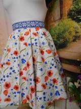 Sukne - Nevädza a maky - sukňa ako stvorená na leto - 10734153_