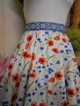 Sukne - Nevädza a maky - sukňa ako stvorená na leto - 10734154_