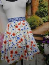 Sukne - Nevädza a maky - sukňa ako stvorená na leto - 10734156_