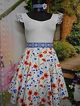 Sukne - Nevädza a maky - sukňa ako stvorená na leto - 10734157_