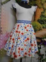 Sukne - Nevädza a maky - sukňa ako stvorená na leto - 10734158_