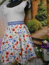 Sukne - Nevädza a maky - sukňa ako stvorená na leto - 10734159_