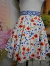 Sukne - Nevädza a maky - sukňa ako stvorená na leto - 10734160_