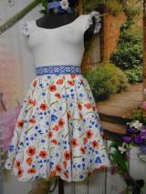 Sukne - Nevädza a maky - sukňa ako stvorená na leto - 10734161_
