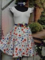Sukne - Nevädza a maky - sukňa ako stvorená na leto - 10734173_