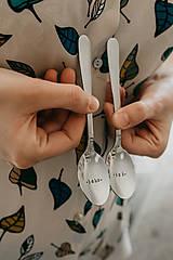 Pomôcky - Sada čajových lyžičiek Jeho-Jej - 10735003_