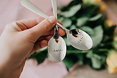 Pomôcky - Sada čajových lyžičiek Jeho-Jej - 10735005_