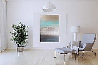 Obrazy - Cross the borders Vol.3- veľký minimalistický abstrakt - 10734285_