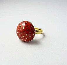 Prstene - Tana šperky - keramika/zlato - 10736934_