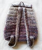 Batohy - Ruksak - batoh v zemitých, prírodných farbách - 10737080_
