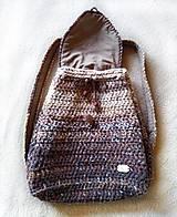 Batohy - Ruksak - batoh v zemitých, prírodných farbách - 10737082_