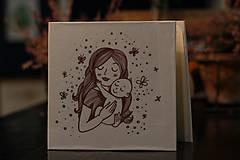 Papiernictvo - Leporelo 13x13 ,,Motherhood,, - 10737048_