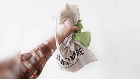 Iné tašky - ♥ Plátená, ručne maľovaná taška ♥ - 10736915_