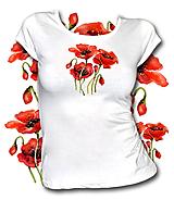 Tričká - Tričko Poppies 1 - 10735688_