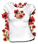 Tričká - Tričko Poppies 2 - 10735702_
