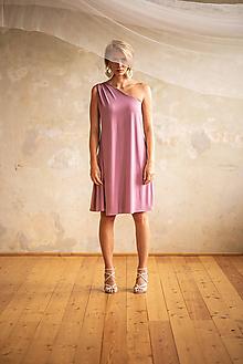 Šaty - Šaty bohémky krátke - 10735651_