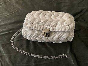Kabelky - Háčkovaná kabelka - 10736023_
