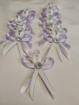 Darčeky pre svadobčanov - Svadobné pierko elegant - 10734803_