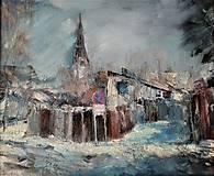 Obrazy - Zimná idyla... - 10734682_