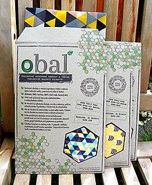 Obalový materiál - Kartónový obal k voskovanému vrecku  - 10735407_