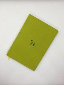 Papiernictvo - Plátený jeleň (Zelená) - 10734795_