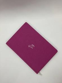 Papiernictvo - Plátený jeleň (Ružová) - 10734800_