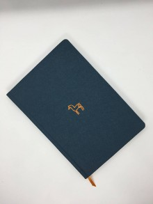 Papiernictvo - Plátený jeleň (Modrá) - 10734804_