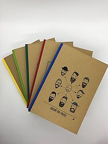 Papiernictvo - Papierový zápisník - 10734882_
