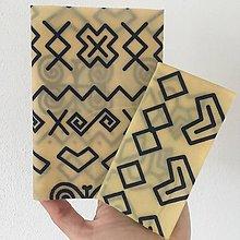 Úžitkový textil - Voskovaný obrúsok Čičmany - EkObal - 10736913_