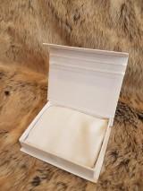 Iné doplnky - Krabička na svadobný USB kľúč - dve srdcia - 10735165_