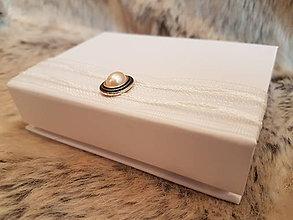 Iné doplnky - Krabička na svadobný USB kľúč  - perla lásky - 10735093_