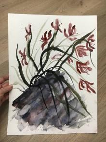 Obrazy - Orchidea - 10736975_