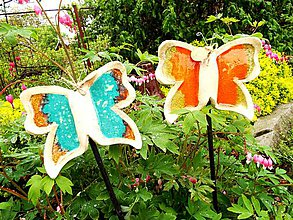 Socha - Motýlik-zápich - 10734480_